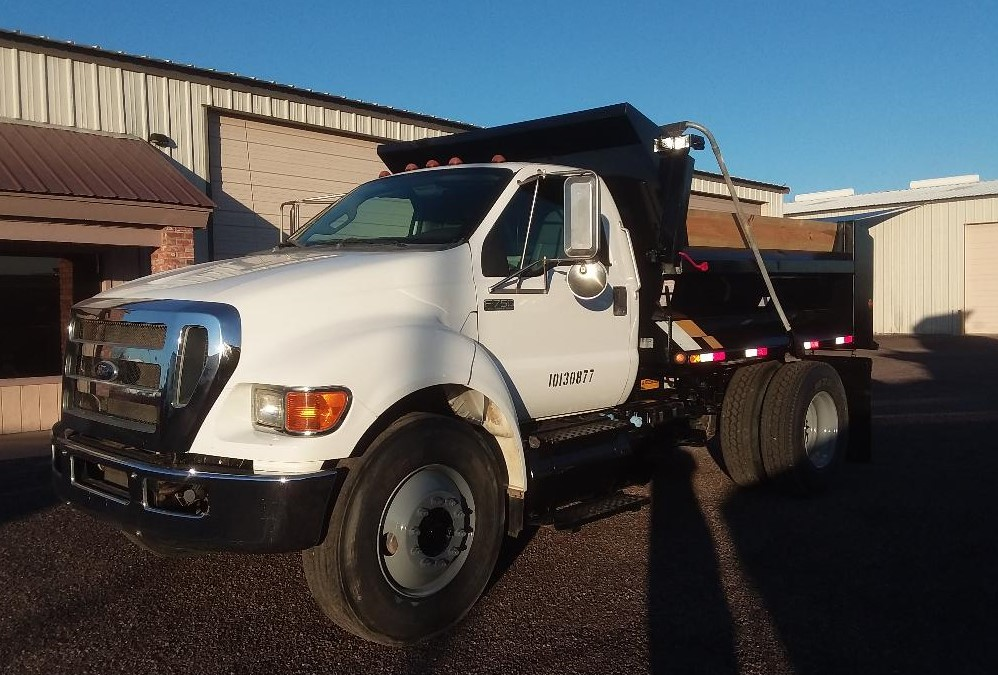 2012 Ford F750 Dump Truck Only 21 000 One Owner Miles Cummins 6 7 Auto Ac Cruise 10 Ft Ledwell 5 6 Yard As In 2020 Dump Trucks For Sale Trucks For Sale Trucks