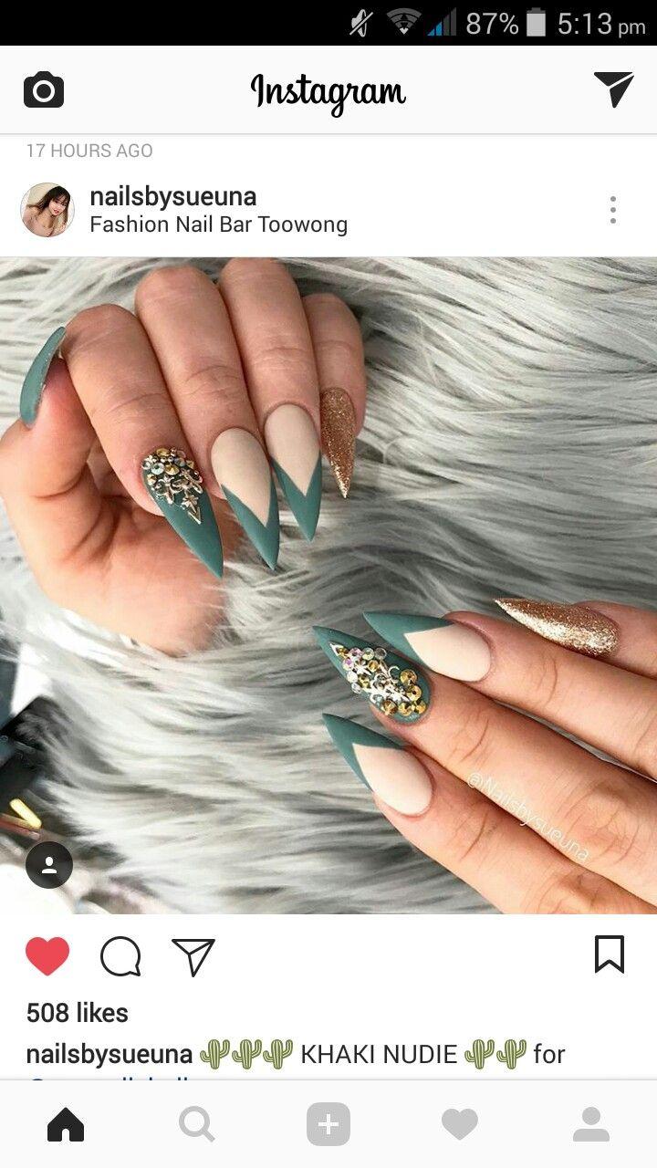 Pin by ßunny 🐰 on Nail Designs   Pinterest   Pretty nail designs ...