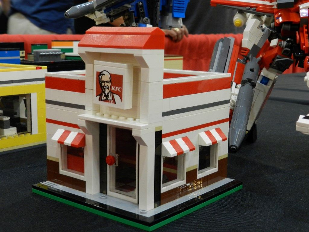 Kfc Toy Food : Kfc restaurant in lego and legos