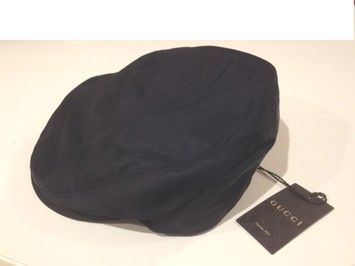 e0434341bdc New and Authentic GUCCI Newsboy Hat Cabby Driver Hat Black Nylon with Green  Red Stripes Size  Medium Unisex. Get the lowest price on New and Authentic  GUCCI ...