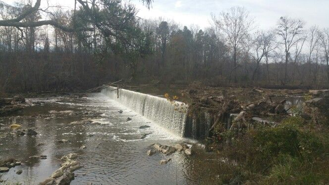 Haw river dam