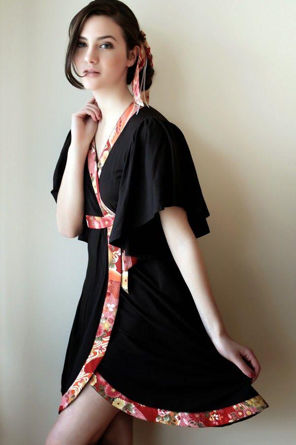 4abf70be8d633 Modern Kimonos - Kimono Dress