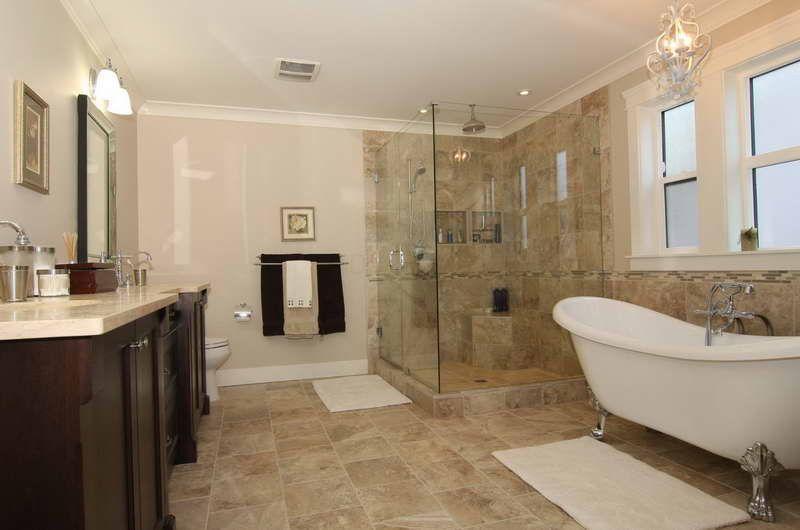Bon Stunning Claw Foot Tub Bathroom To Redecorate Your Home: Claw Foot Tub  Bathroom With Glass Design U2013 Vissbiz