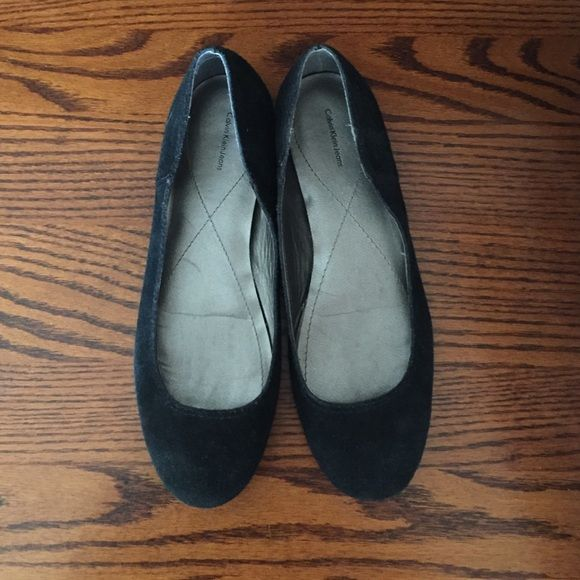 Calvin Flats Black Jeans Size 8 But Fit Klein Worn Twice iuTwZOkXP