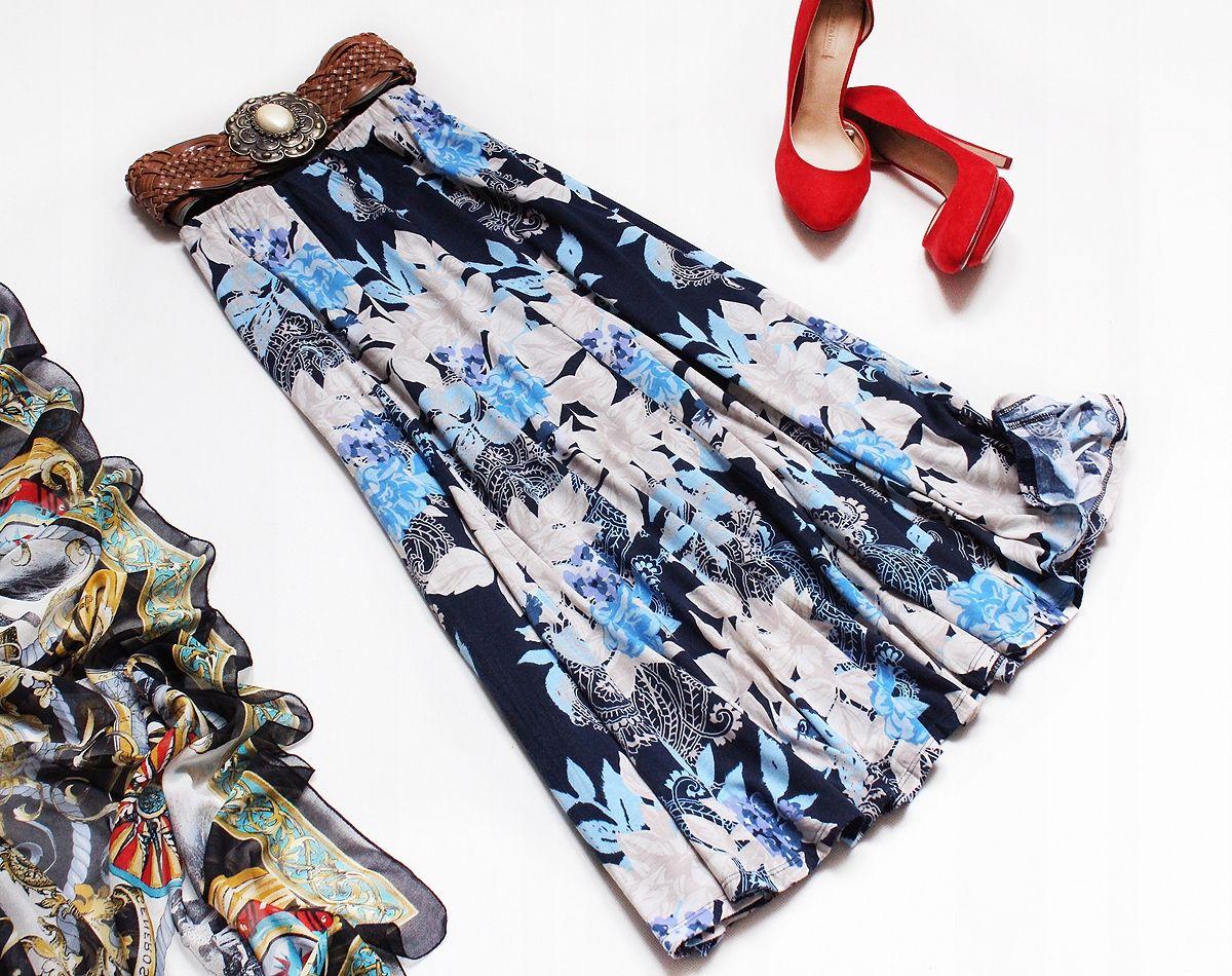 Bm Casual Przepiekna Spodnica W Kwiaty Roz 44 46 7735285957 Oficjalne Archiwum Allegro Moda Boho Hippie Boho Cute Outfits