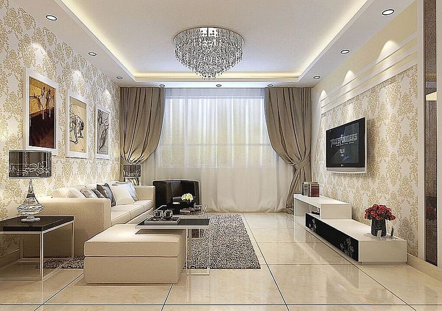 Groovy 3D Wallpaper For Living Room Cost With Best Modern Sofa Sets Pabps2019 Chair Design Images Pabps2019Com