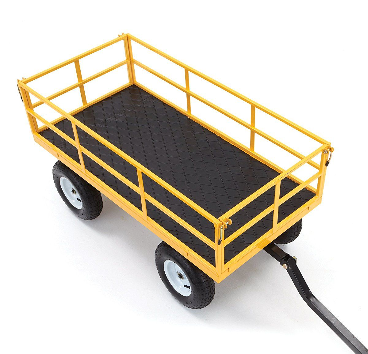 Gorilla Carts HeavyDuty Steel Utility Cart with Removable