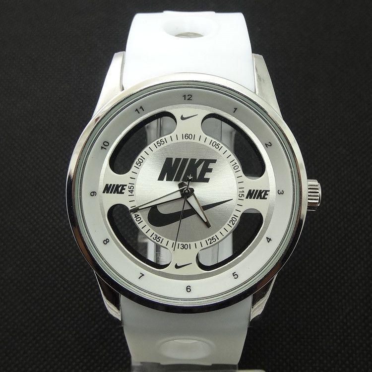Nike Sports Watch Designer Style White Fitness Fashion
