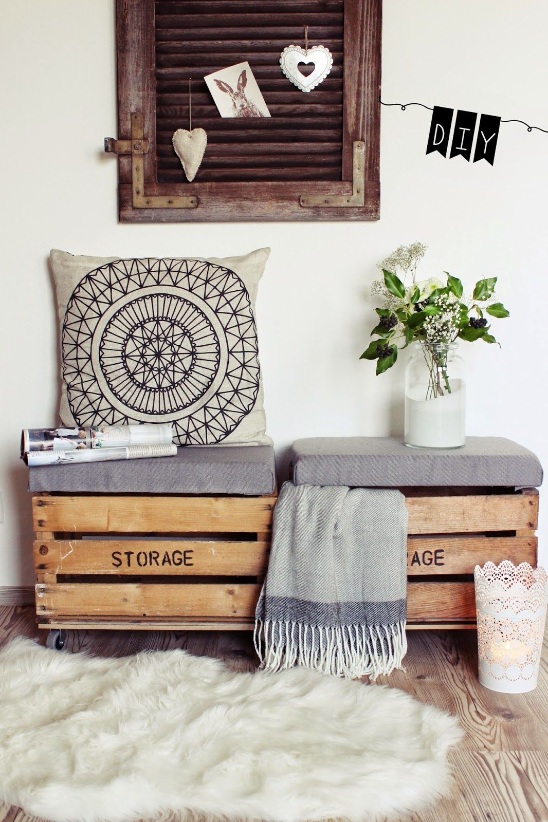 die besten 25 sitztruhe wei ideen auf pinterest ikea. Black Bedroom Furniture Sets. Home Design Ideas