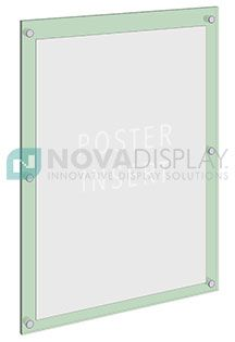 Use Our Signpanel Standoffs To Wall Mount Large Format Acrylic