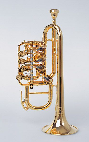 Rotary Valve Trumpet Http Www Youtube Com Watch V Gns5ocp51dq Piccolo Trumpet Brass Instrument Jazz Instruments