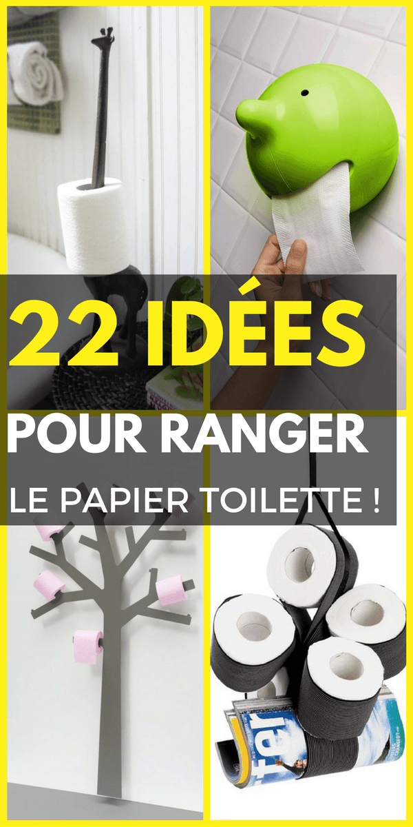 22 id es de rangement pour votre papier toilette rangement organisation pinterest id es. Black Bedroom Furniture Sets. Home Design Ideas
