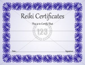 Free Template For Certificate You Searched For Reiki L  Certificate Templates  Reiki  Pinterest .
