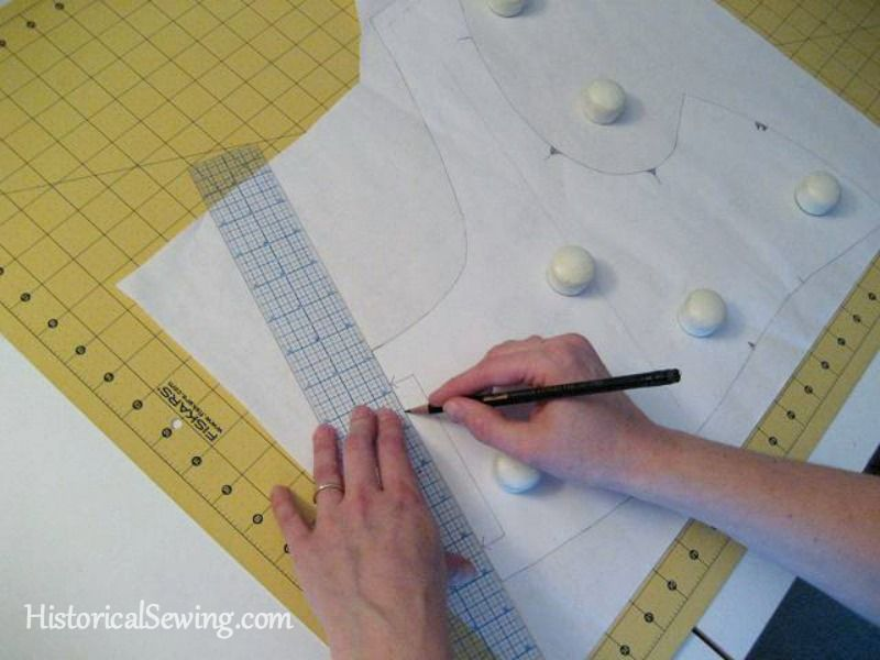 Tracing Paper Patterns Historicalsewing Com With Images