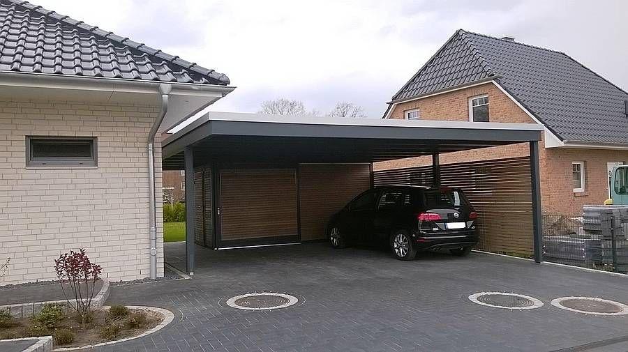 Doppelcarport Modernes Design 1b Jpg 900 505 Garagenbau Carport Holz Carport Modern