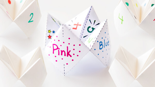 Photo of Free Printable Cootie Catcher Template