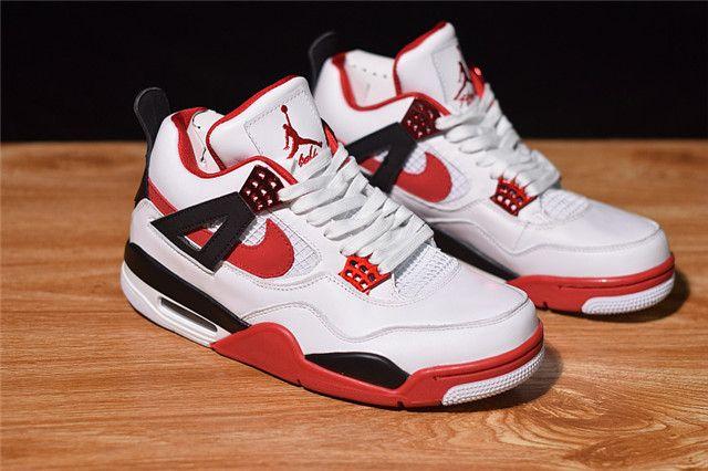 9c2b02fd127 Top Air Jordan 4 Retro Fire Red 836011-107 CQ   Jordan Shoes   Air ...