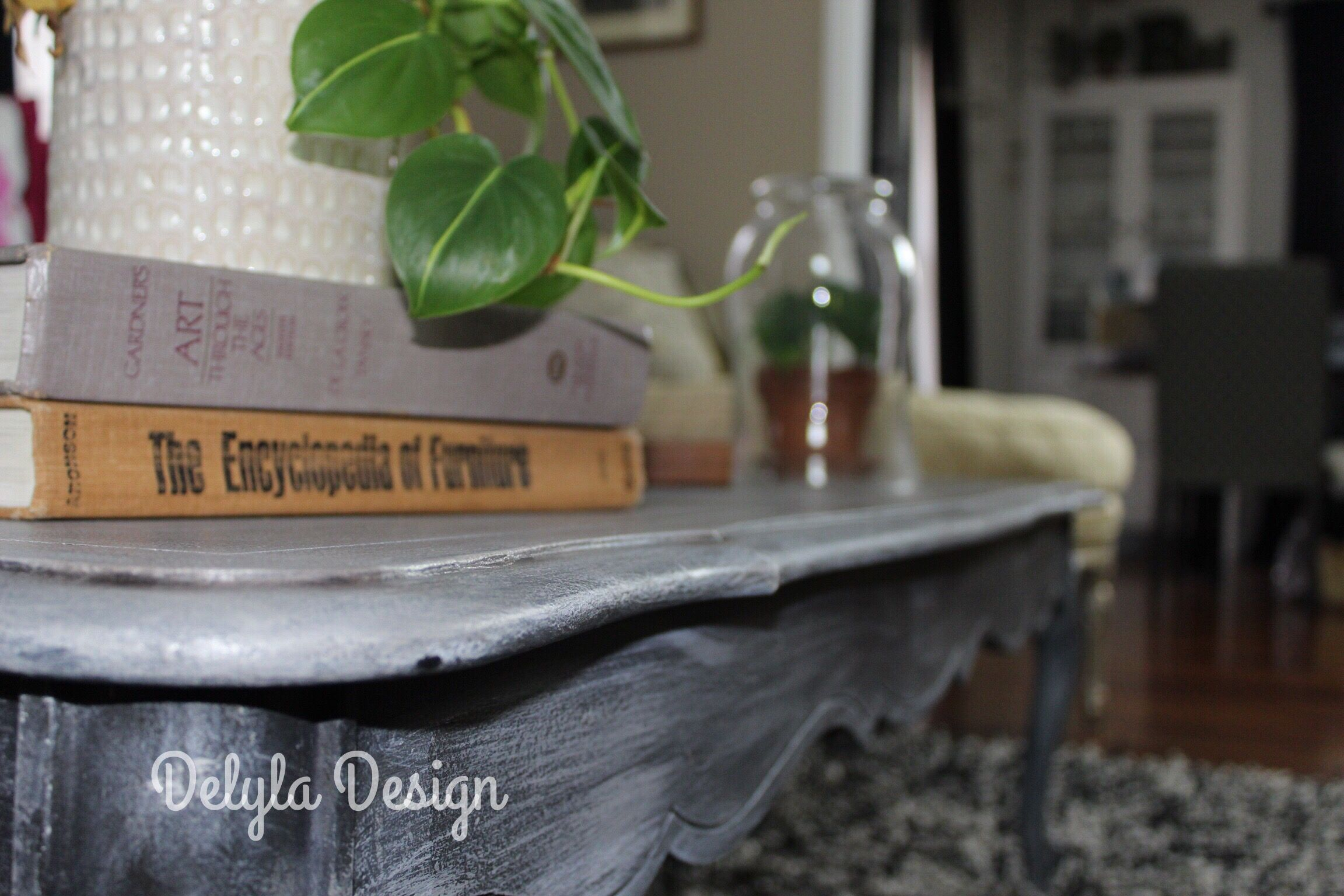 Layered Weathered Wood Finish. Using Paint Couture products. Visit the blog for a step by step tutorial!
