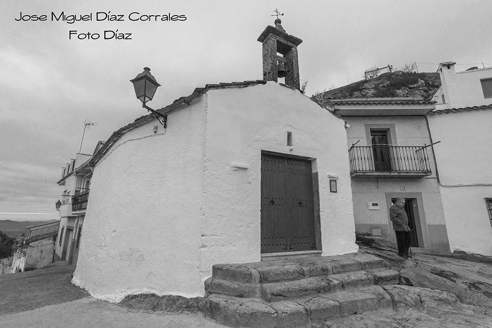 Ermita Virgen de los Remedios en Montánchez, Spain. by Josemigueldiazcorrales