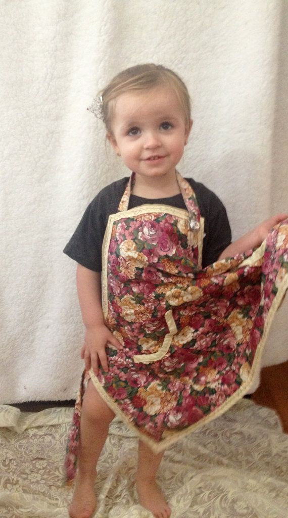 Adorable ART Apron for her by AmykeDesign on Etsy, $22.50