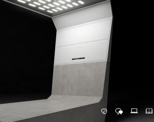 Get Out! Aster Urban Lounger by Emo Design. Un capteur détecte votre présence et allume automatiquement la lumière qui est ajustable...