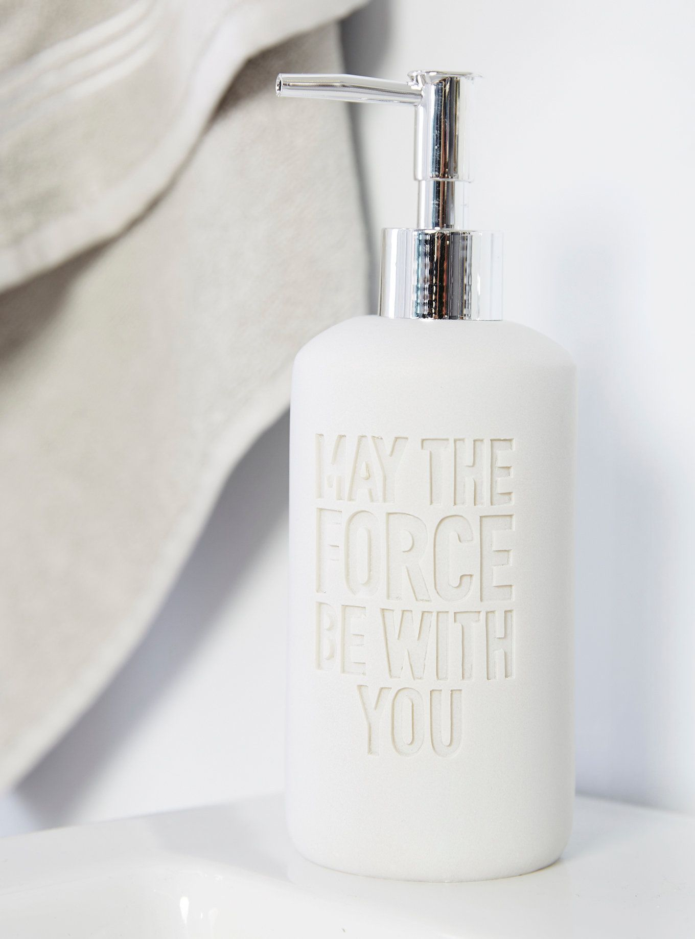 Star Wars May The Force Be With You Soap Dispenser | Mickey Fix ...