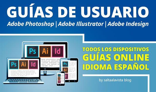 gu as de usuario online en espa ol de adobe photoshop illustrator e rh pinterest com DMV Book in Spanish Handbook in Spanish