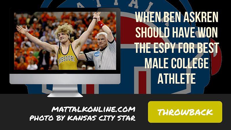 Throwback Blog: When Ben Askren SHOULD have won the ESPY ...