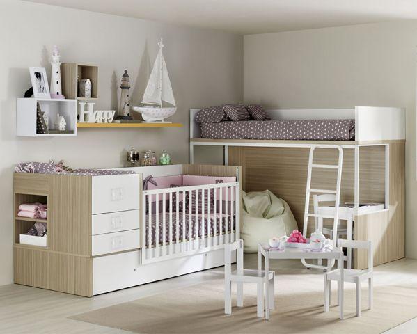 Pin de Muebles ROS en Habitaciones Infantiles   Pinterest   Cuna ...