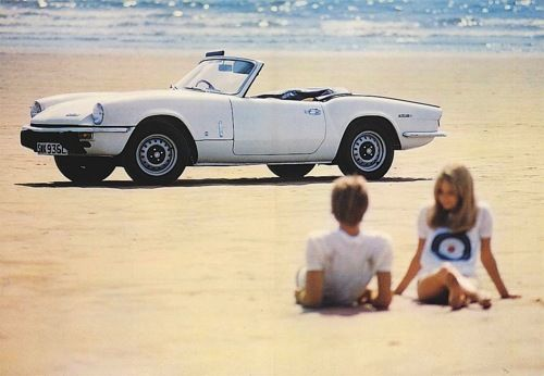 nice car, sun, beach, whats not to love?