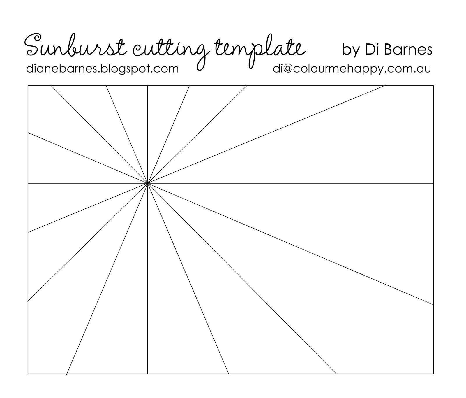 JAI 267 Just add typography - & sunburst template   Card making ...