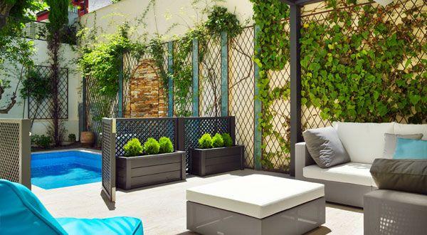 Como dise ar el jard n con macetas de diferentes formas for Diseno de jardines para el hogar