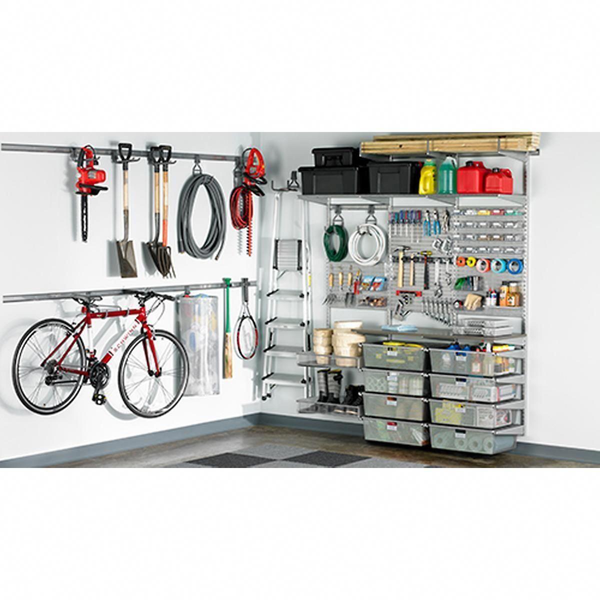 10 Diy Garage Shelves Ideas To Maximize Garage Storage: Pin On Garage/Shed