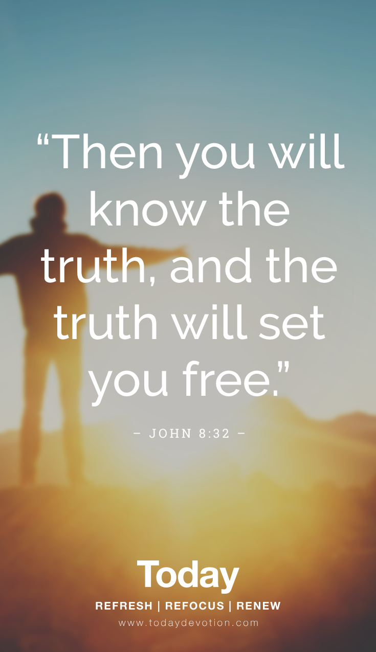 bible verse about the truth setting you free
