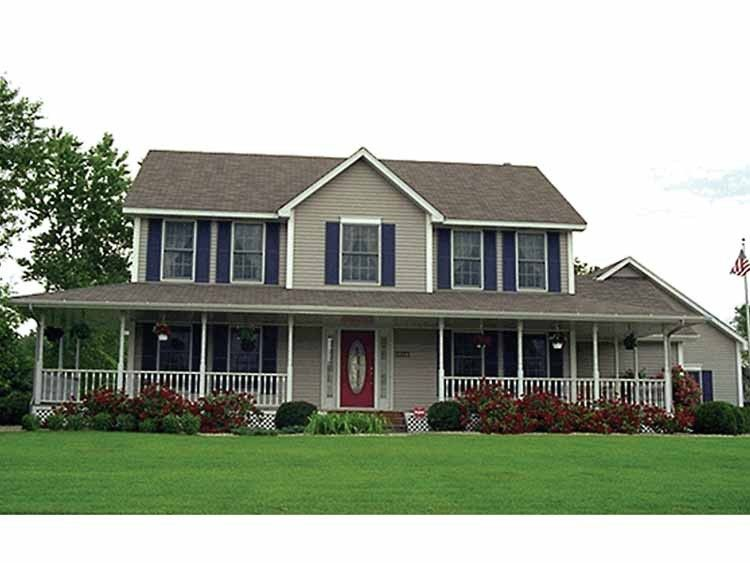 Farmhouse House Plan With 2144 Square Feet And 4 Bedrooms From Dream Home Source House Plan Code House Plans Country Style House Plans House Plans Farmhouse