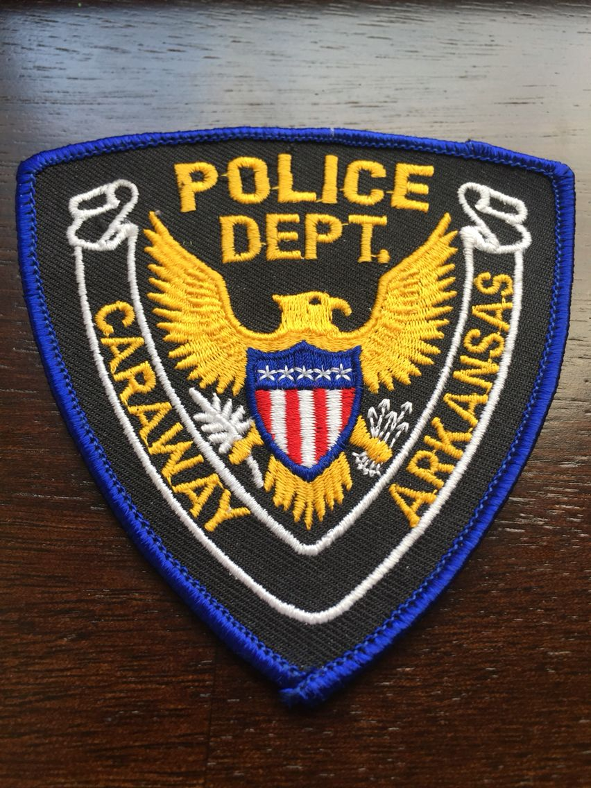 Caraway PD Police patches, Police, Arkansas