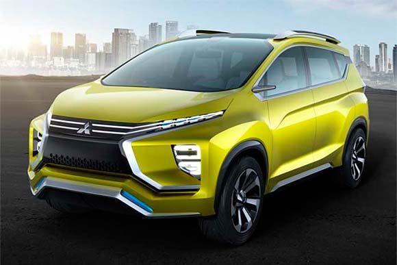 Salão Da Indonésia Expõe O Mitsubishi Concept Xm Carro Conceito Utilitários Esportivos Mitsubishi Motors