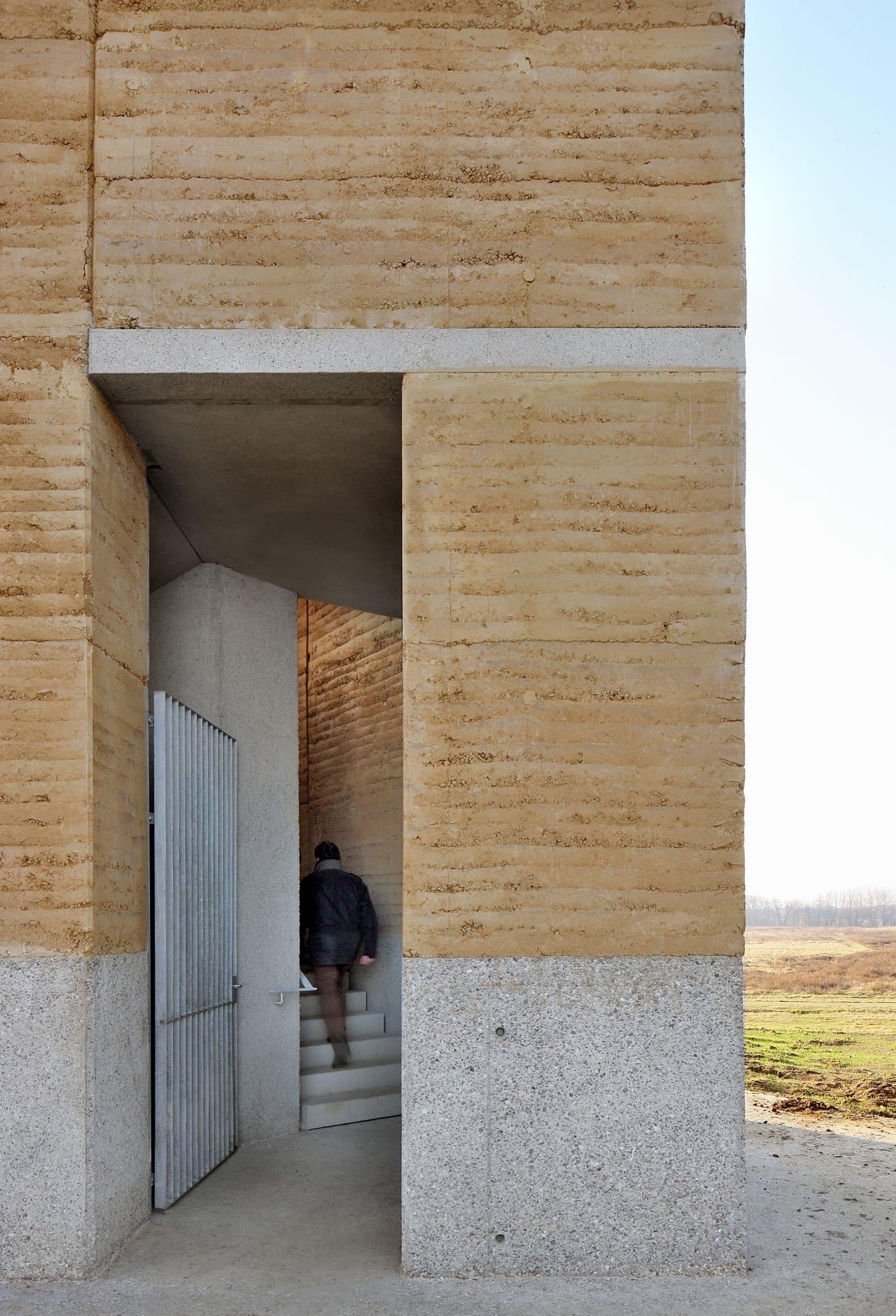 De Gouden Liniaal Architecten, Filip Dujardin · Observation Tower Negenoord