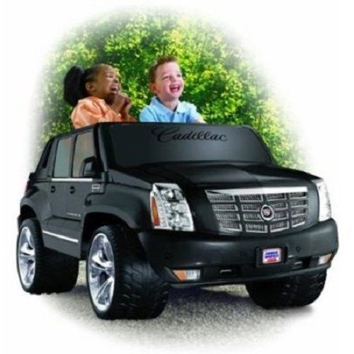 power cadillac escalade wheels kids electric car 12 v toy truck new powerwheels in toys