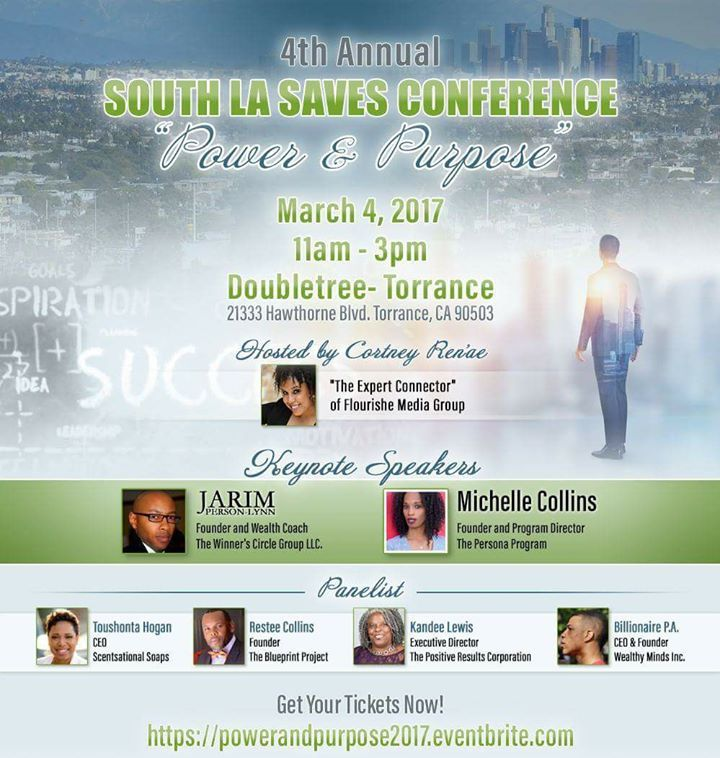Rashunda rene discusses upcoming 4th annual south la saves power purpose malvernweather Image collections