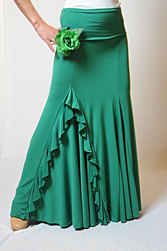 1482d2a3e Resultado de imagen para faldas de flamenco modelos   Baile   Faldas ...