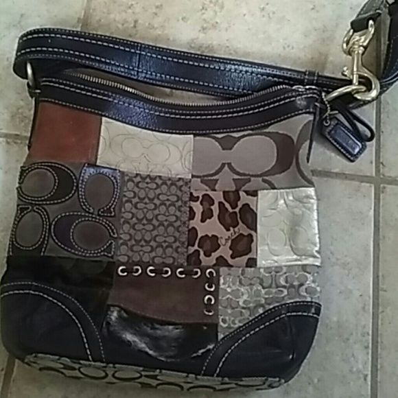 43af67d622 Coach patchwork crossbody! )reduced noF0893-f12840 Measurements are 11