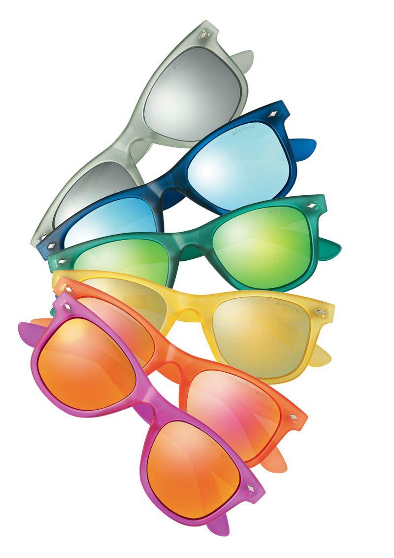 c70080370d2e36 Polaroid Eyewear Collection Arc en Ciel  polaroid  lunettesdesoleil  eyewear   été2015  accessoires