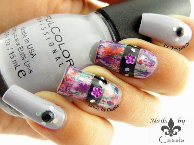 31dc2014 violet brush stroke nail art nails nailart nails 31dc2014 violet brush stroke nail art nails nailart prinsesfo Images