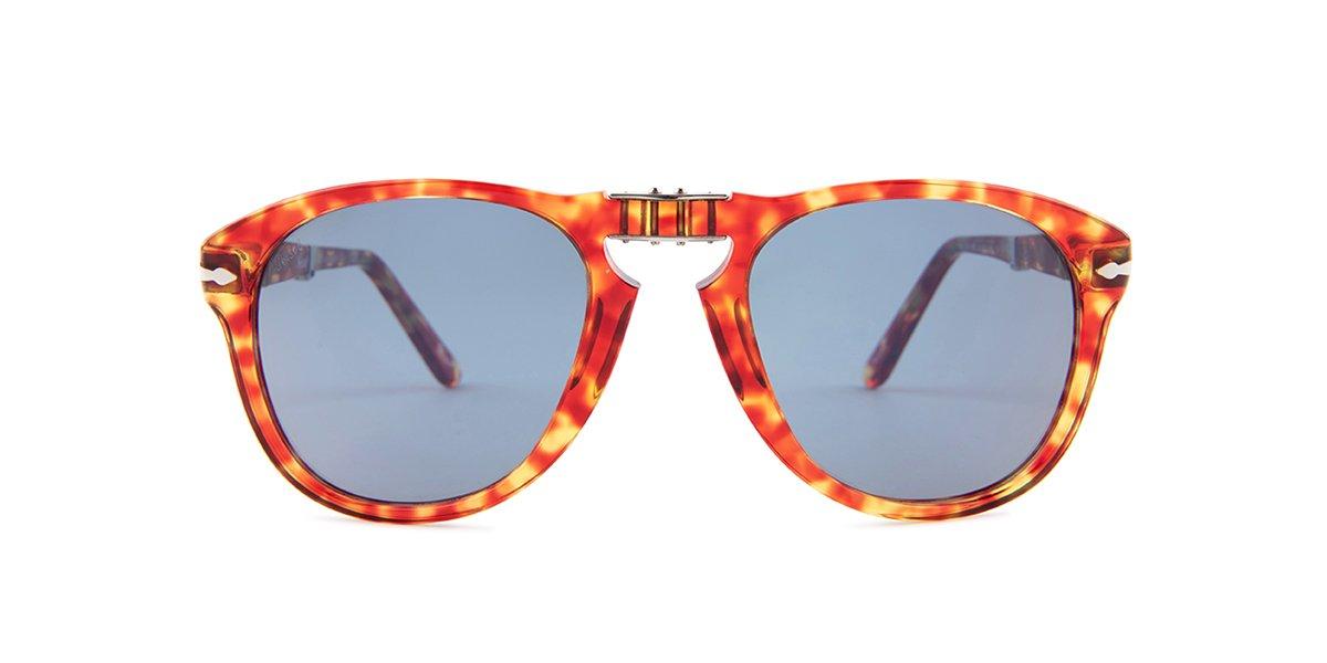 eb2853cfac5a Persol 714 Red   Blue Lens Mirror Sunglasses – shadesdaddy