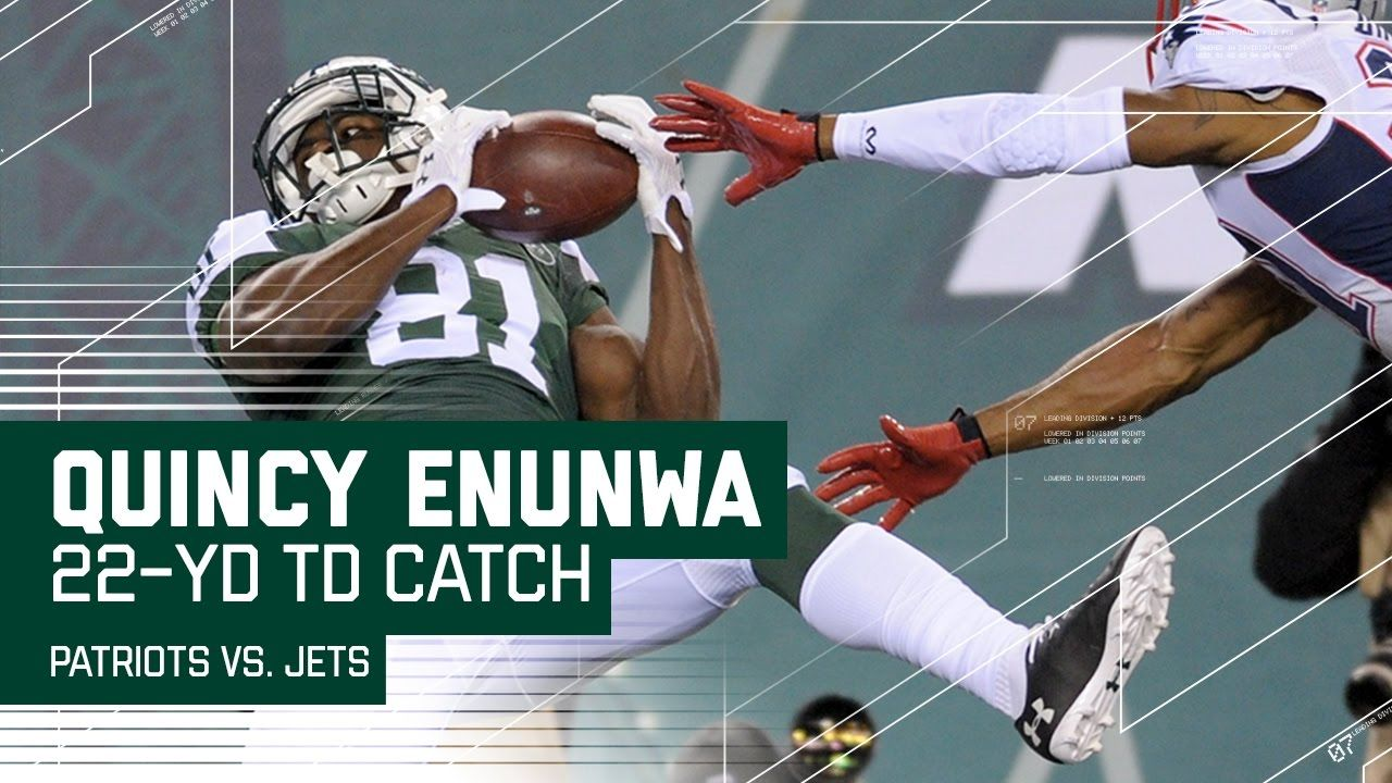 Quincy Enunwa's Amazing TD Catch Gives Jets 4th Quarter