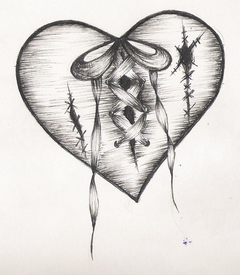 Cool heart designs to draw technique of cool drawing designs