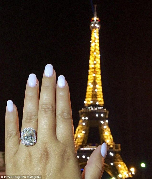 Adrienne Bailon Gets Engaged To Israel Houghton In Paris Huge