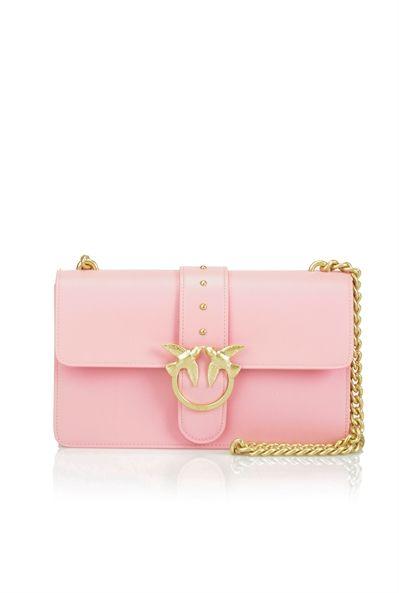 e815209ddbc2 Pinko Calfskin shoulder bag