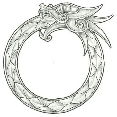 Wrap Around Bracelet Style Wrist Tattoo Ink Celtic Dragon